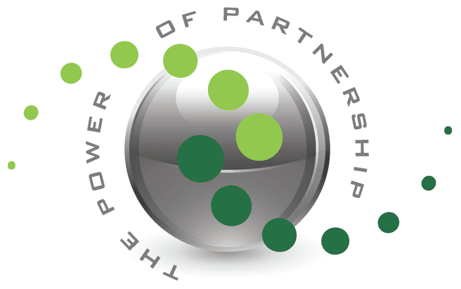 power of partnership graphic